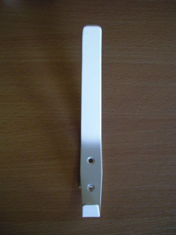 Nagy fehér kalaptartós fogas M323/fh