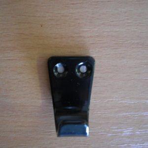 Kicsi fekete egyágú fogas M324/fk