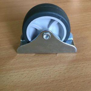 Bútorgörgő fix gumis átmérő 50mm