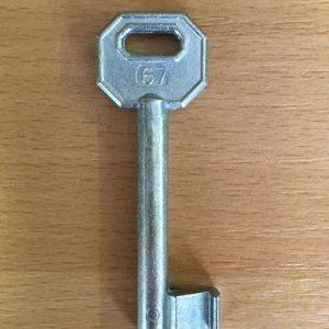 M 340 lővér nyers 67-es kulcs